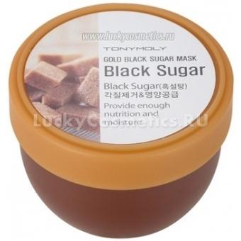 Маска-скраб с сахаром Tony Moly Gold black sugаr mask