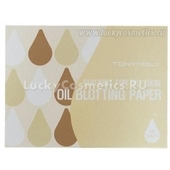 Матирующие салфетки Tony Moly Oil blotting Paper 50P