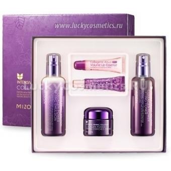 Набор по уходу за зрелой кожей Mizon Collagen power enriched triple set