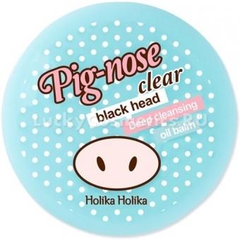 Маска-бальзам для борьбы с черными точками Holika Holika Piggy Clear Black Head Deep Cleansing Oil Balm