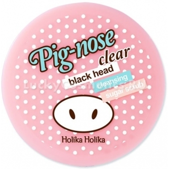 Скраб от черных точек Holika Holika Piggy Clear Black Head Cleansing Sugar Scrub