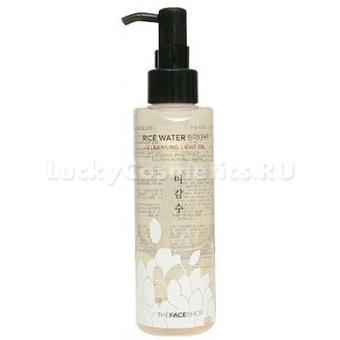 Гидрофильное масло с экстрактом отрубей и риса The Face Shop Rice water bright cleansing rich oil