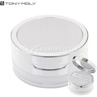 Прозрачная минеральная пудра для фиксации макияжа Tony Moly Mineral skin fit snow powder