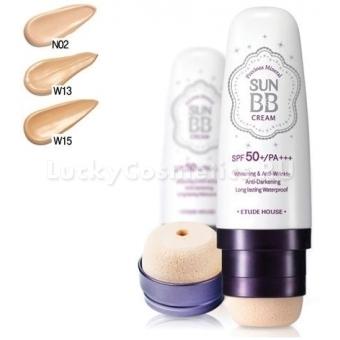 Водостойкий гипоаллергенный ББ крем Etude House Precious Mineral Sun BB Cream  SPF50+/PA+++