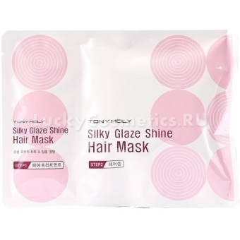 Восстанавливающая маска для волос Tony Moly Silky Glaze Shine Hair Mask