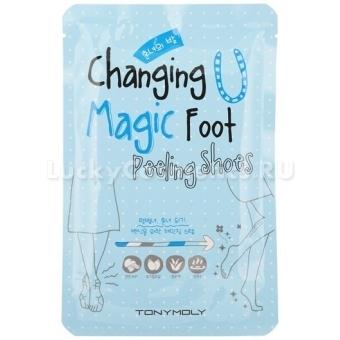 Пилинг для ног Tony Moly Changing U Magic Foot Peeling Shoes