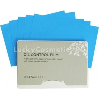 Матирующие салфетки The Face Shop Oil control film