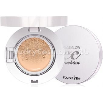 СС крем-кушон Secret Key Face Glow CC Cushion SPF50PA