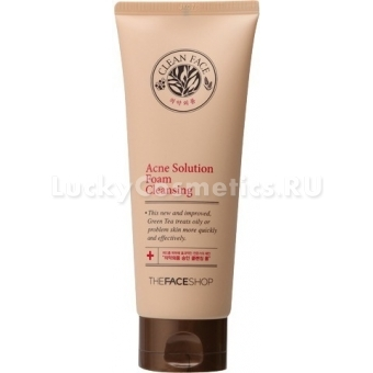 Пенка The Face Shop Clean Face Acne Solution Foam Cleansing 150ml