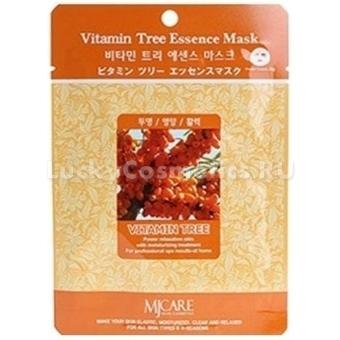 Витаминизированная облепиховая маска Mijin Cosmetics Vitamin Tree Essence Mask