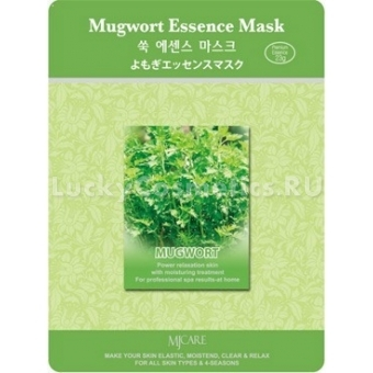 Маска с экстрактом полыни Mijin Cosmetics Mugwort Essence Mask