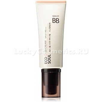 ББ крем  The Saem Eco Soul Skin Fit BB Cream