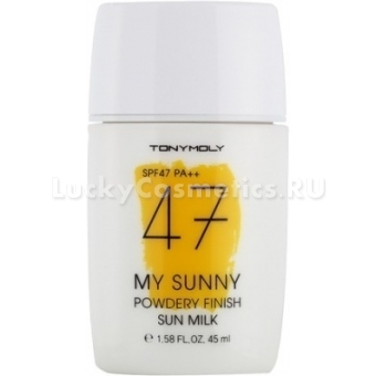 Солнцезащитный крем SPF47 Tony Moly My Sunny Powdery Finish Sun Milk SPF47