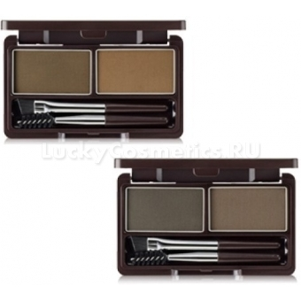 Пигмент для бровей The Saem Eco Soul Eyebrow Kit