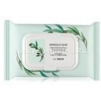 Очищающие салфетки  The Saem Marsеille Olive Deep Cleansinging Tissue