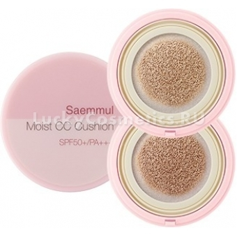 СС крем-кушон The Saem Saemmul Moist CC Cushion