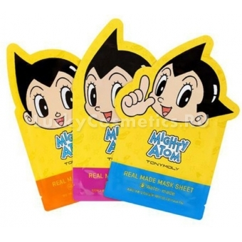 Маска для лица Tony Moly Mighty Atom Real Mask Sheet