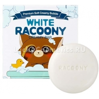 Отбеливающее мыло Secret Key White Racoony Creamy Bar