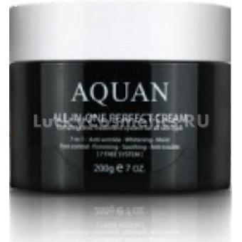 Крем для лица многофункциональный Anskin Aquan All-in-one Perfect Cream