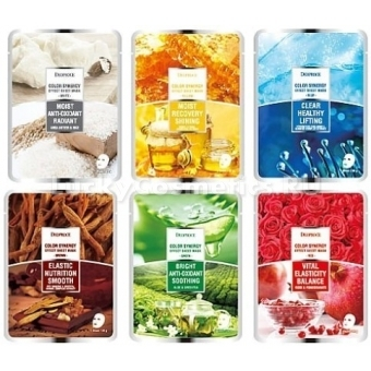Тканевая маска Deoproce Color Synergy Effect Sheet Mask