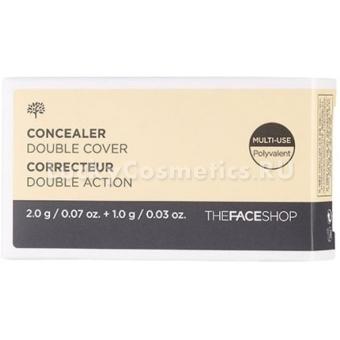 Двойной консилер The Face Shop Concealer Double Cover