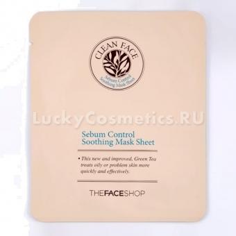 Тканевая маска для проблемной кожи The Face Shop Cf. Serbum Control