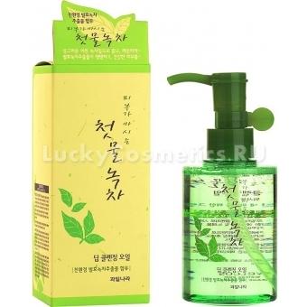 Гидрофильное масло Welcos Green Tea Deep Cleansing Oil