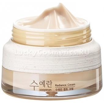 Крем для сияющей кожи The Saem Sooyeran Radiance Cream