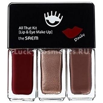 Набор для макияжа The Saem All That Kit Lip& Eye Make up