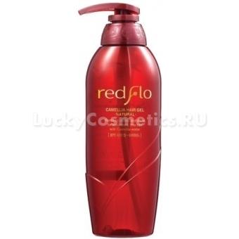 Гель для естественной укладки волос с маслом камелии Flor de Man Redflo Camellia Hair Gel Natural