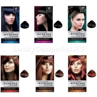 Крем - краска с хной для волос Richenna Color Cream