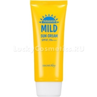 Солнцезащитный крем Secret Key Thanakha Mild Sun Cream SPF47,PA+++