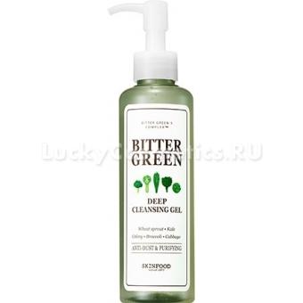 Гель для лица интенсивного действия Skinfood Bitter Green Deep Cleansing Gel