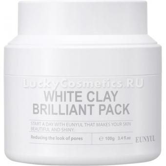 Маска для контроля расширенных пор Eunyul White Clay Brilliant Pack