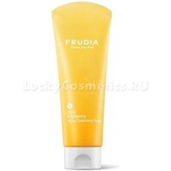 Пенка для умывания с экстрактом мандарина Frudia Citrus Brightening Micro Cleansing Foam