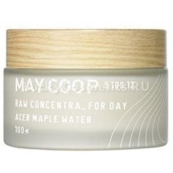 Увлажняющий дневной крем с кленовым соком May Coop Raw Concentra for Day