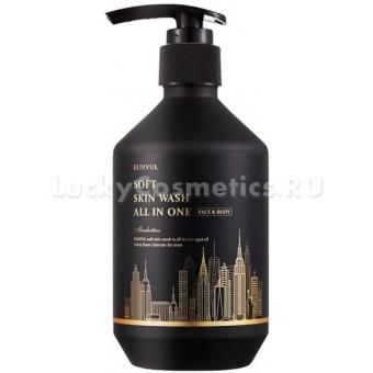 Очищающий многофункциональный мужской гель Eunyul Soft Skin Wash All In One