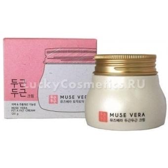 Крем для лица с цветочными экстрактами Deoproce Musevera Pit Pat Cream