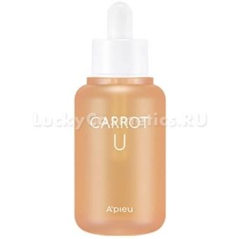 Сыворотка для лица с маслом семян моркови A'Pieu Carrot U Serum