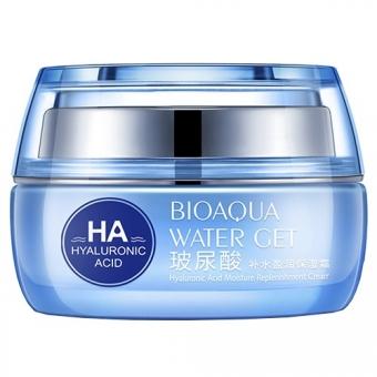 Увлажняющий крем с гиалуроновой кислотой Bioaqua Water Get Hyaluronic Acid Moisture Cream