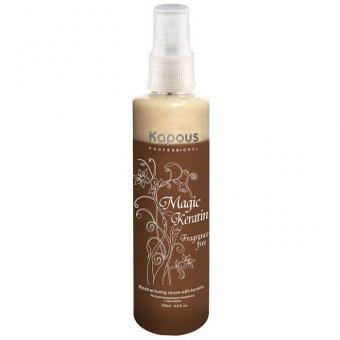 Реструктурирующая сыворотка с кератином Kapous Fragrance Free Magic Keratin Serum