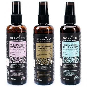 Мицеллярный спрей для очищения тела Botavikos Aromatherapy Micellar Body Spray
