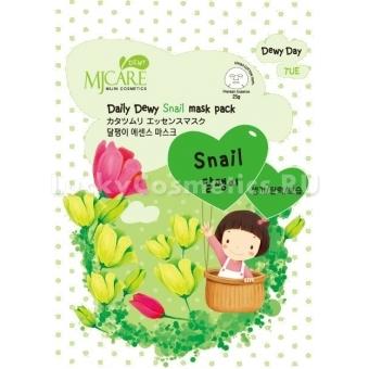 Улиточная маска с муцином Mijin Cosmetics MJ CARE Daily Dewy Snail Mask Pack