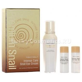 Улиточный крем для глаз (тоник, лосьон)  Tony Moly  Intense Care Snail Eye Cream