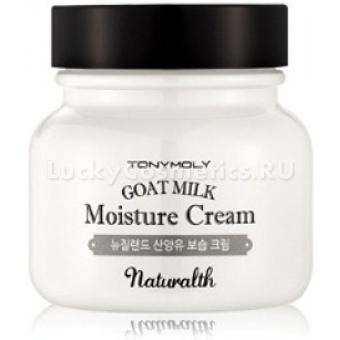 Увлажняющий крем на основе козьего молока Tony Moly Naturalth Goat Milk Moisture Cream