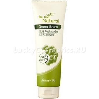 Гель-пилинг для лица Enprani Natuer Be The Natural Green Gram Soft Peeling Gel