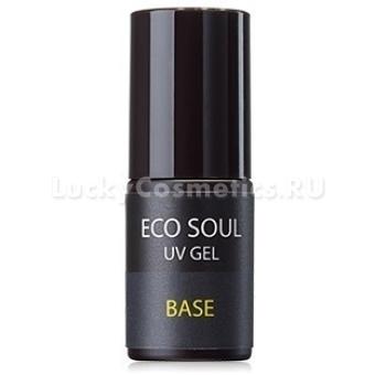 Базовое покрытие для ногтей The Saem Eco Soul Nail Collection UV GEL Base Coat