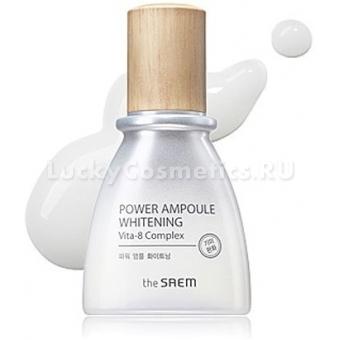 Ампульная осветляющая эссенция The Saem Power Ampoule Whitening