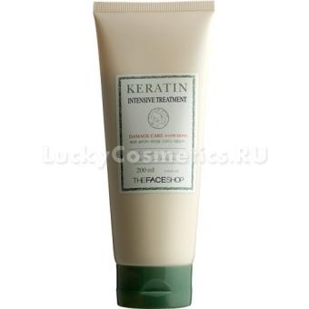 Маска для волос восстанавливающая The Face Shop Keratin Intensive Treatment
