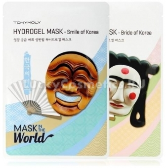 Гидрогелевая маска для лица Tony Moly Mask In The World Hydrogel